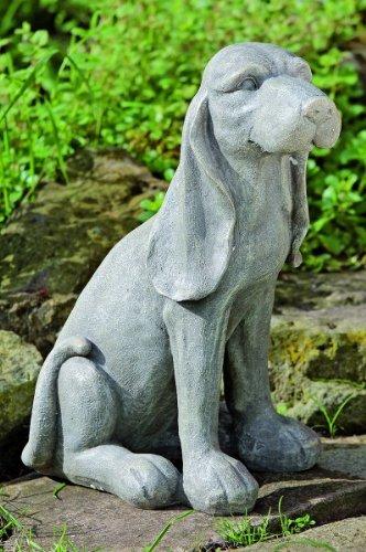 KUHEIGA Figur Hund, Beagle, Gartenfigur, Höhe: 38cm