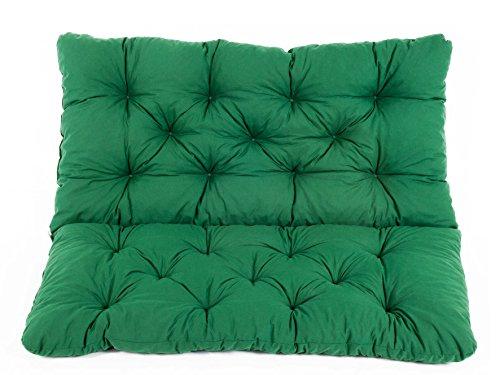Ambientehome Meerweh Sitzkissen und Rückenkissen Bank Hanko, grün, ca 100 x 98 x 8 cm,...