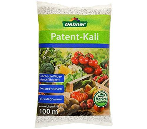 Dehner Patentkali, Spezialdünger für Obst, Gemüse und Zierpflanzen, 10 kg, für ca. 100 qm