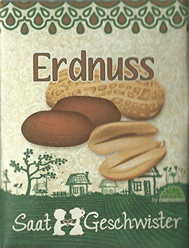 Die STadtgärtner Erdnuss-Saatgut   Samen für Erdnüsse im Garten, Balkon oder Terrasse   zum...