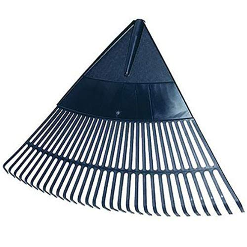 Idealspaten 66520140 Landschaftsbesen aus Kunststoff 75cm, Schwarz, 40 x 25 x 15 cm