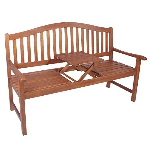 Gartenbank 3-Sitzer Phuket aus geöltem Eukalyptusholz