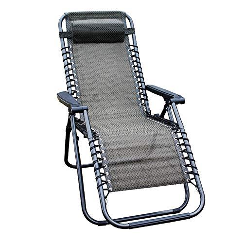 Mojawo Luxus Comfort Gartenstuhl - Relaxsessel - Relaxstuhl - Liegestuhl - klappbar - verstellbar -...
