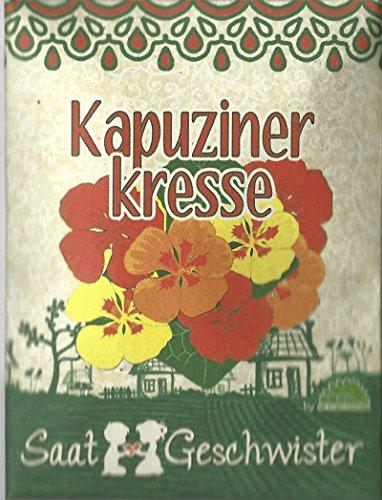 Die Stadtgärtner Kapuzinerkresse-Saatgut | Blume mit wunderschönen, essbaren und leuchtend-bunten...