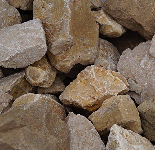 GABIONA Jura Natursteine Bruch I Gabionen Steine zum Befüllen für Gabionenkörbe für die...
