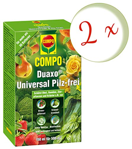 Compo Duaxo Universal Pilz-frei, Bekämpfung von Pilzkrankheiten an Obst, Gemüse, Zierpflanzen und...