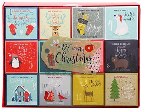 Modern Gourmet Foods - Kakao Geschenkset mit 4 leckeren Geschmacksrichtungen & weihnachtlichen...