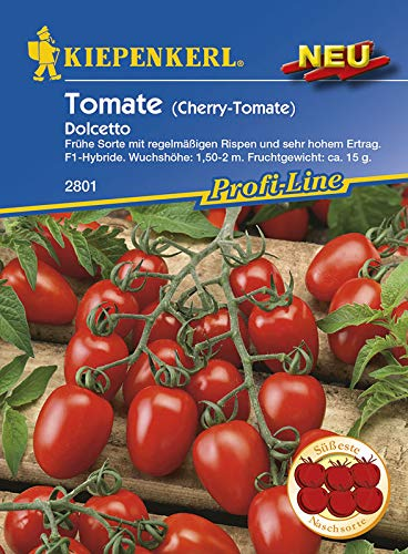 Kiepenkerl 2801 Cherry-Tomate Dolcetto (Cherrytomatensamen)
