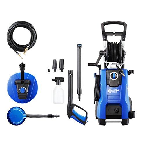 Nilfisk E 145 bar 145.4-9 X-TRA PAD Hochdruckreiniger für Haushalt, Außenbereich, Autowäsche und...