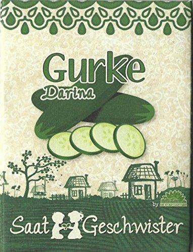 Die Stadtgärtner Gurke'Darina'-Saatgut | knackige und saftige Ergänzung für jeden Salat