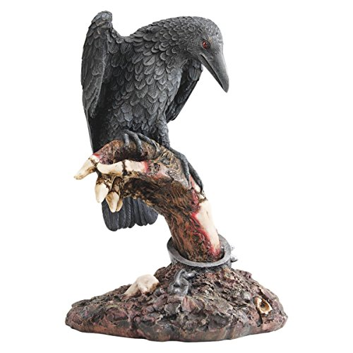 Design Toscano Des Raben Stange, Zombie-Statue