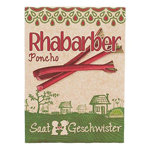 Die Stadtgärtner Rhabarber'Poncho'-Saatgut | Ideal für fruchtige Desserts, Süßspeisen, Kuchen...