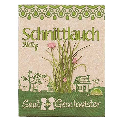 Die Stadtgärtner Schnittlauch-Saatgut | feinwürziges Aroma | Samen für 80 Pflanzen