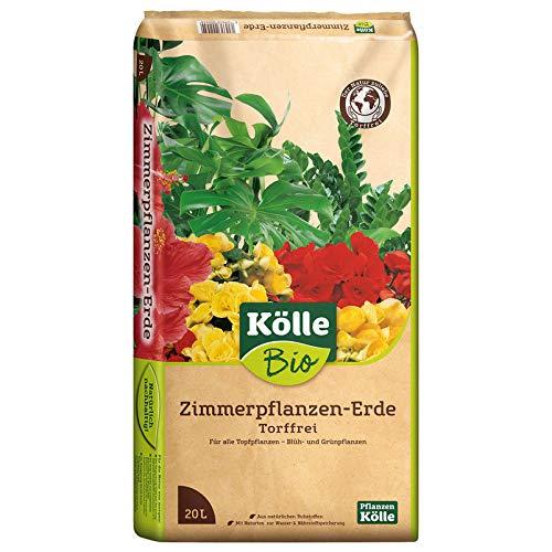 Kölle Bio Zimmerpflanzen-Erde Torffrei 10 l 20 Liter