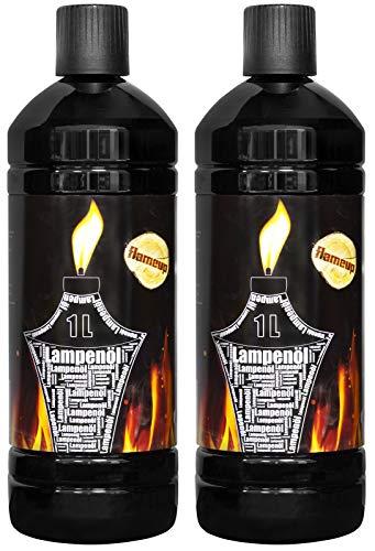 Flameup Lampenoel Lampenöl Petroleum Lampe Garten Oel Fackeln Fackel Laterne Öl Innen Camping 2...