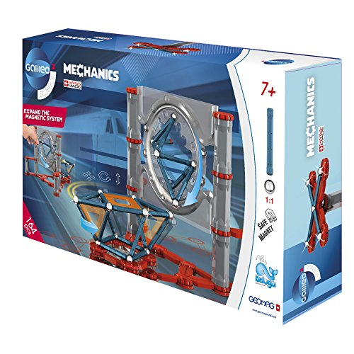 Beluga Spielwaren GmbH 62022 164 Galileo Geomag Mechanics 164-teilig, bunt