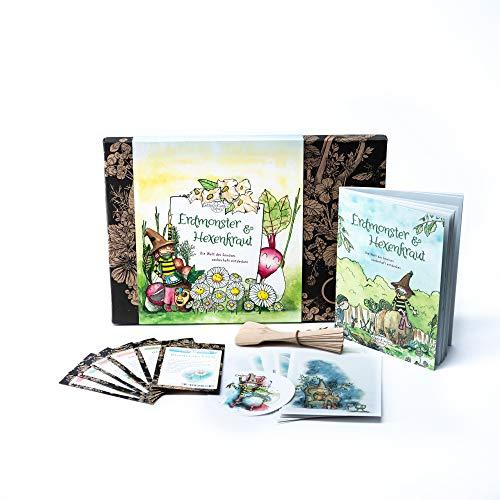 Magic Garden Seeds Erdmonster & Hexenkraut - Samen-Geschenkset für Kinder mit Saatgut für 6...