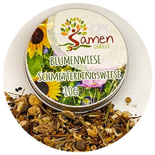 Blumenwiese / 10g Schmetterlingswiese Samen für eine bunte Blumenwiese/farbenfroh & nektarreiche...
