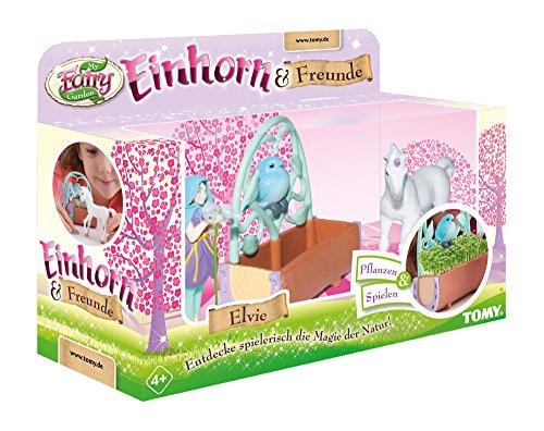 Einhorn & Freunde, das TOMY My Fairy Garden Erweiterungsset mit Kressesamen zum selber Pflanzen &...