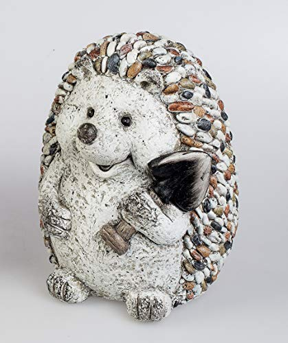 Formano Deko Igel Dekofigur Gartendekoration Stones Art, 21x24 cm