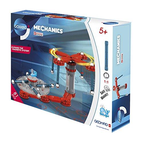 Beluga Spielwaren GmbH 62021 81 Galileo Geomag Mechanics 78-teilig, bunt