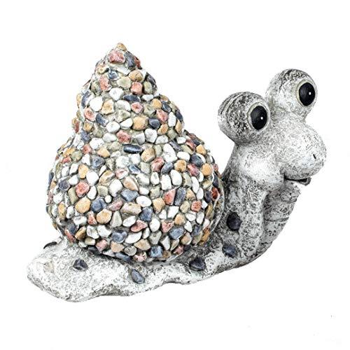 formano Gartenfiguren Dekofiguren Tierfiguren in Kieselstein-Optik aus wetterfestem Magnesia (bunt -...