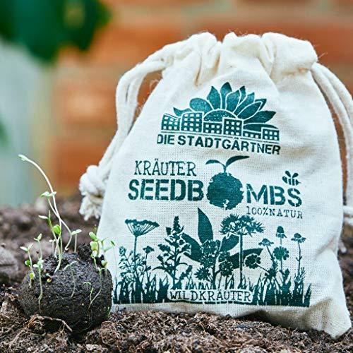 Die Stadtgärtner Seedbombs   Wildkräuter   8 handgemachte Samenbomben   verschiedenes...