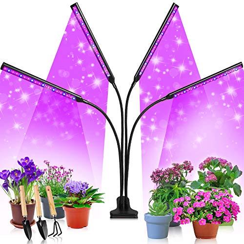 Etship LED Pflanzenlampe, 40W Pflanzenlicht Pflanzenleuchte Wachstumslampe, 80 Leds Grow Lampe...