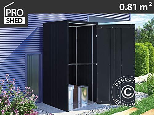 Dancover Geräteschuppen Metallgerätehaus/Metallschrank 0,95x0,85x1,8m, ProShed®, anthrazit