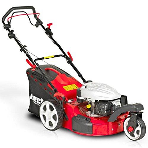HECHT Benzin-Rasenmäher 5483 SW 3-Rad Rasenmäher (3,7 kW (5,0 PS), Schnittbreite 46 cm, 60 Liter...