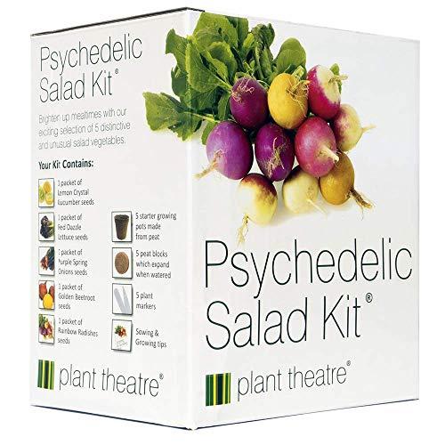 Kit Psychedelischer Salat von Plant Theatre - 5 fantastische Salatsorten zum Züchten - Ein tolles...