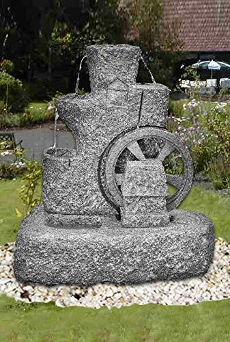 Troester's Brunnenwelt Granit-Mühlradbrunnen (Art.Nr.: 86263/K)
