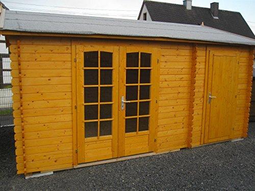 Gartenhaus Siegen + Dachschindeln + Fußboden GRATIS - 3010410