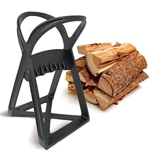 Kabin Kindle Quick Holzspalter - Manuelles Spaltwerkzeug - Stahlkeilspitze spaltet Brennholz einfach...