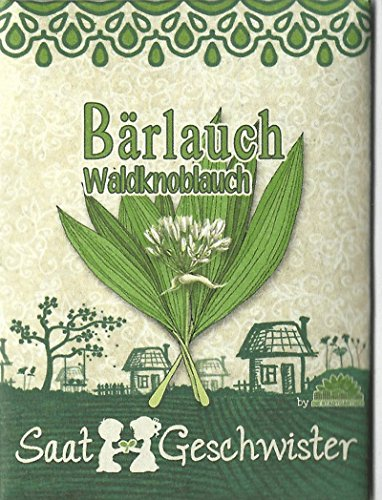 Die Stadtgärtner Bärlauch-Saatgut   Samen des Waldknoblauchs für den Garten, Balkon oder Terrasse