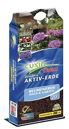 Cuxin Universal Zimmerpflanzenerde 20 L ● Blumenerde für Zimmerpflanzen und Palmen ● 100 Tage...