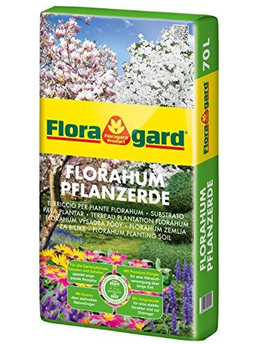 Floragard Florahum Pflanzerde 70 L • Universalerde • für Blumenbeete, Stauden, Sträucher,...