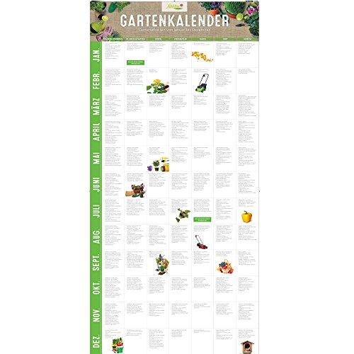 Garten Schlüter Gartenkalender Immerwährender Kalender/Jahreskalender für den Garten als Ratgeber...
