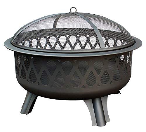 Landmann 25995 Magnafire Feuerstelle, schwarz