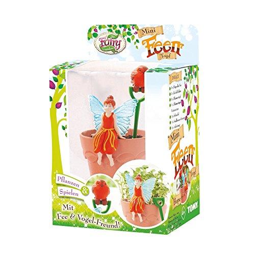 TOMY My Fairy Garden Mini Feen-Topf Hope – Kreatives Spielzeug für Kinder ab 4 Jahre - die Natur...