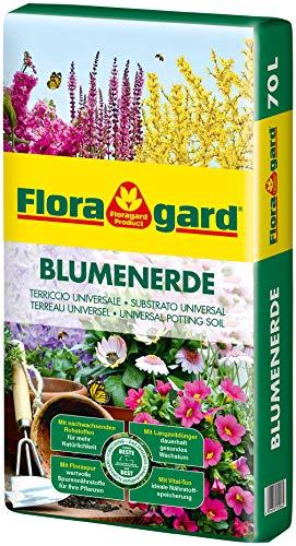 Floragard Blumenerde, Erdfarben, 70 Liter