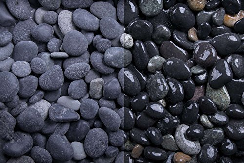 Kies Splitt Zierkies Edelsplitt Beach Pebbles, 8-16mm Sack 20 kg