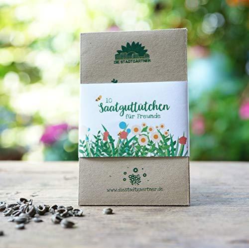 Die Stadtgärtner   Saatguttütchen   10 Umschläge zum Saatgut sammeln   zum Verschenken für...