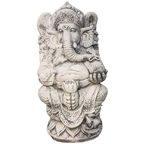 Steinfiguren Horn Ganesha