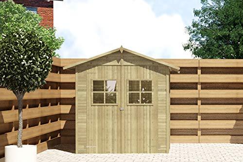 Fonteyn Gartenhaus/Blockhütte Gerlinda 180x180 Hochdruck imprägniert