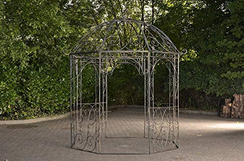 CLP Rosenpavillon Leila I Rankpavillion Aus Pulverbeschichtetem Eisen I Gartendekoration Im...