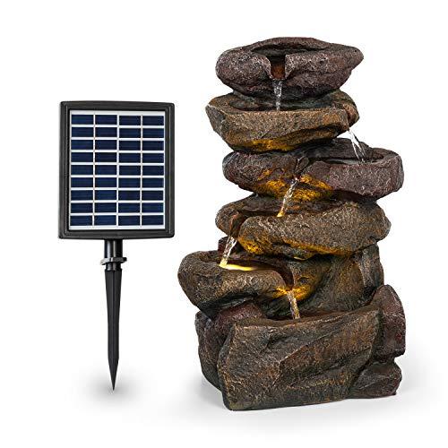 blumfeldt Savona Solarbrunnen,inkl. Solarpanel,Leistung: 2,8 Watt,Lithium-Ionen-Batterie (ca. 5h...