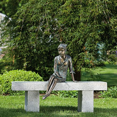 Rottenecker Gartenfigur Berrit, Bronze, Höhe: 48 cm