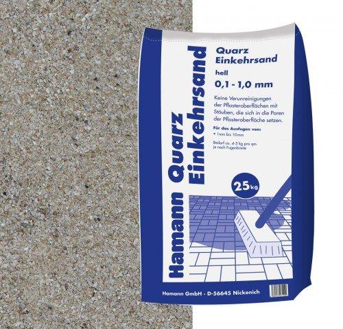 Hamann Mercatus GmbH Quarz Einkehrsand 25 kg Sack