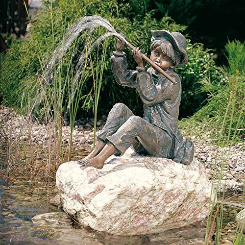 Rottenecker Gartenfigur Hans klein, Bronze, Höhe: 32 cm
